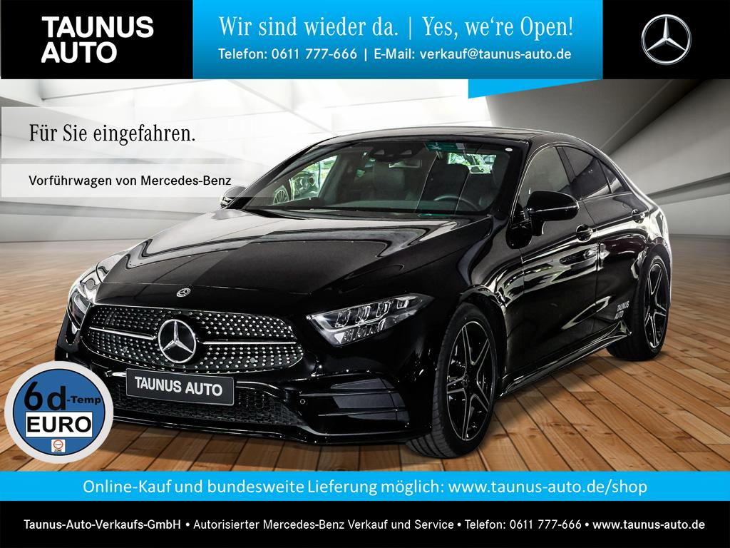 Mercedes-Benz CLS 300 d AMG NIGHT COMAND WIDESCREEN, Jahr 2019, Diesel