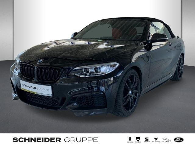 BMW M235i 2er xDrive Cabrio LEDER ALARM XENON NAVI, Jahr 2016, Benzin