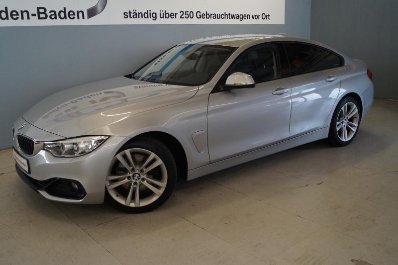 BMW 425d Gran Coupe Sport Line Navi Business Xenon, Jahr 2016, Diesel