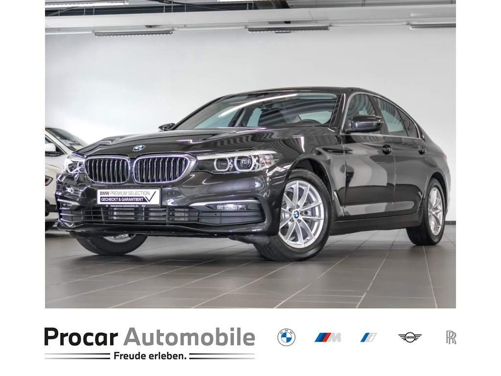 BMW 520i LED WLAN Navi Prof. Parkassistent Shz, Jahr 2018, Benzin