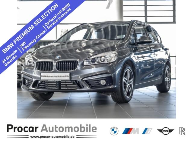 BMW 218 Active Tourer Sport Line Navi LED RFK HIFI, Jahr 2017, Diesel