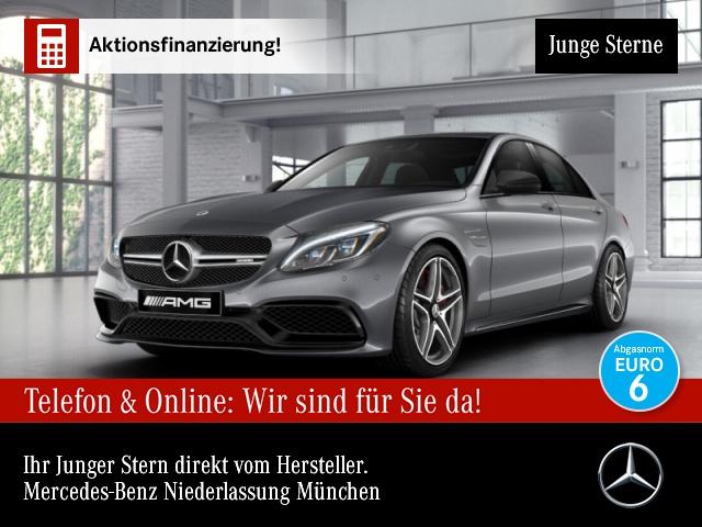 Mercedes-Benz C 63 S AMG Perf-Abg ILS Driverspack Kamera Night, Jahr 2018, Benzin