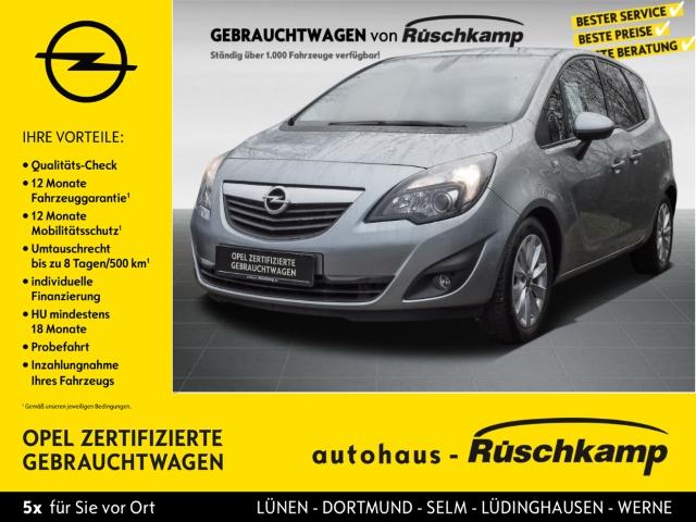 Opel Meriva B Active 1.4 Turbo Klimaautom SHZ Temp, Jahr 2013, Benzin