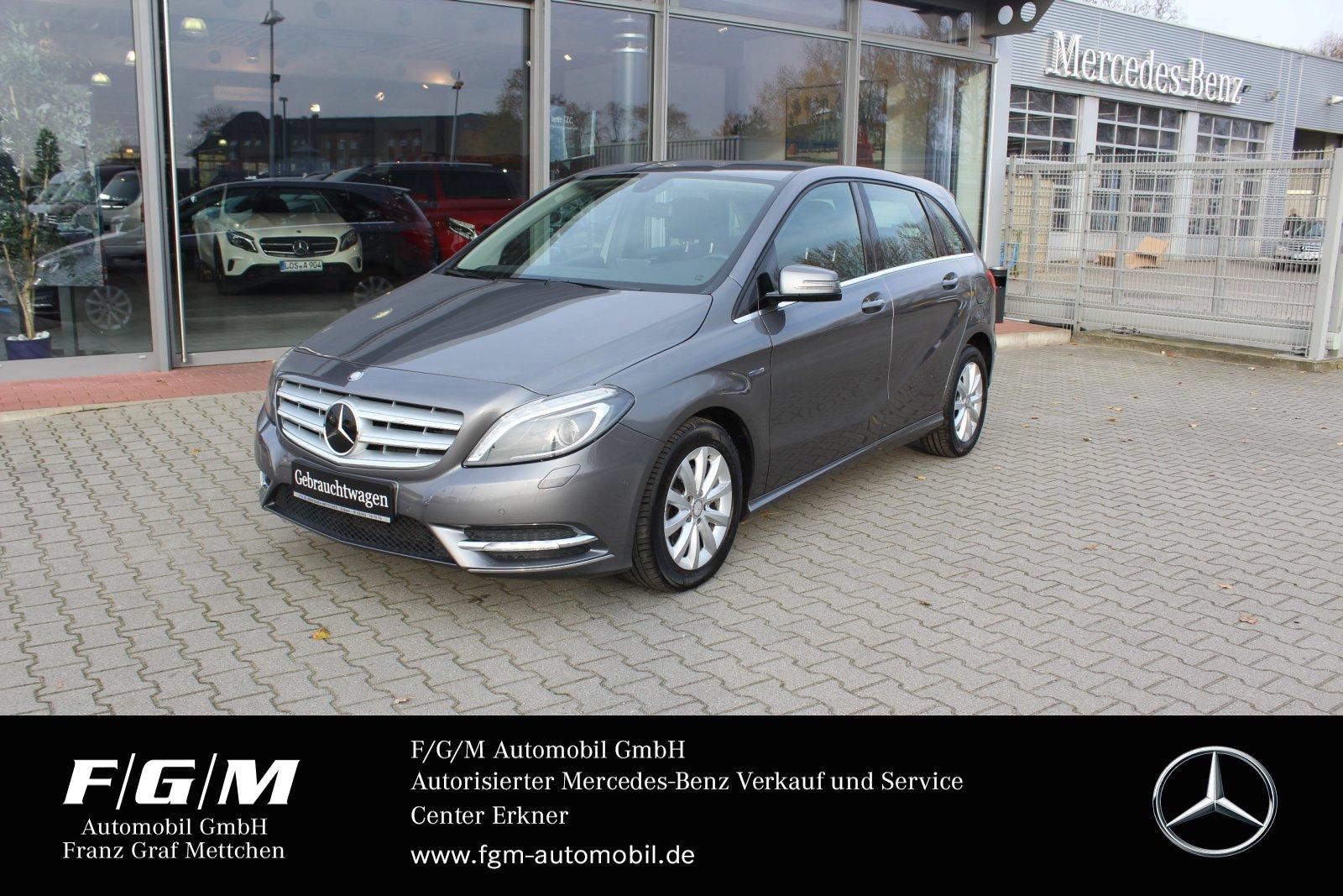 Mercedes-Benz B 200 CDI Klima/Xenon/AHK Park-Assist./P-Lenkung, Jahr 2012, diesel