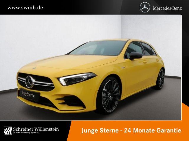 Mercedes-Benz A 35 AMG 4M Night*FAP*Leder*360*Mbeam*RC*Ambi*AR, Jahr 2018, Benzin