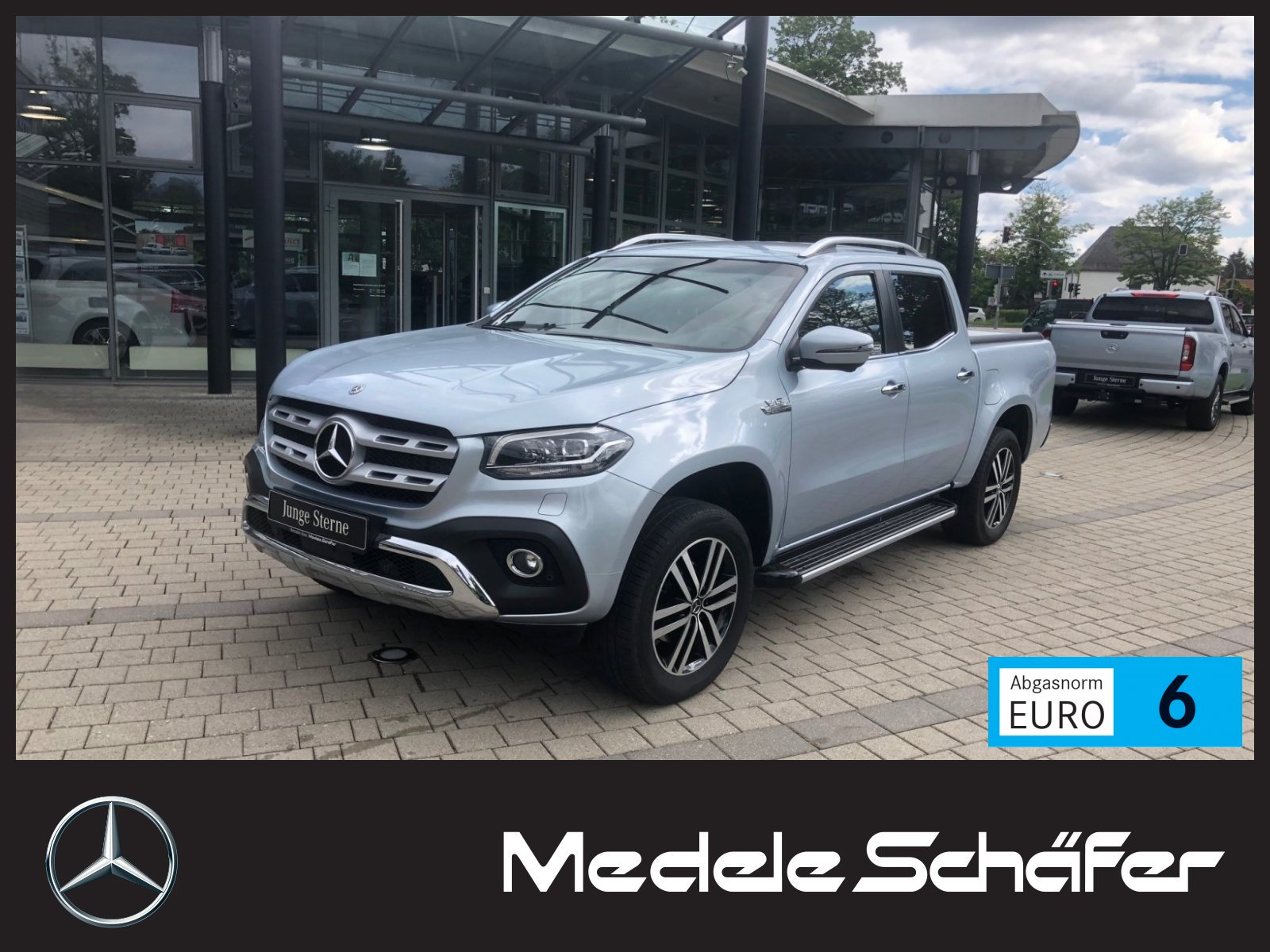 Mercedes-Benz X 350 V6 4MATIC POWER EDITION LEDER AHK ROLLO, Jahr 2019, Diesel