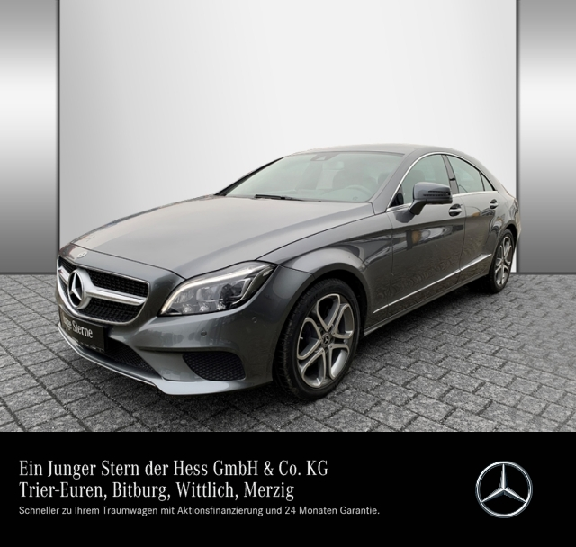 Mercedes-Benz CLS 350 d Sportpaket+Comand+360°+LED+PDC, Jahr 2017, Diesel