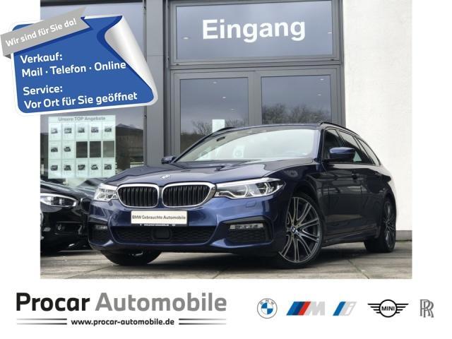 BMW 540d xDrive Touring M Sport Navi HuD DA+ PA+ H/K, Jahr 2018, Diesel