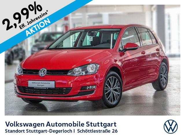 Volkswagen Golf VII 1.2 TSI Allstar Navi PDC GRA, Jahr 2016, Benzin