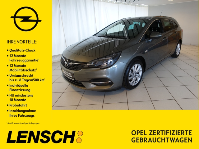 Opel Astra K ST Elegance 1.4 AUT+NAVI+SITZHZG+PDC+USB, Jahr 2020, Benzin
