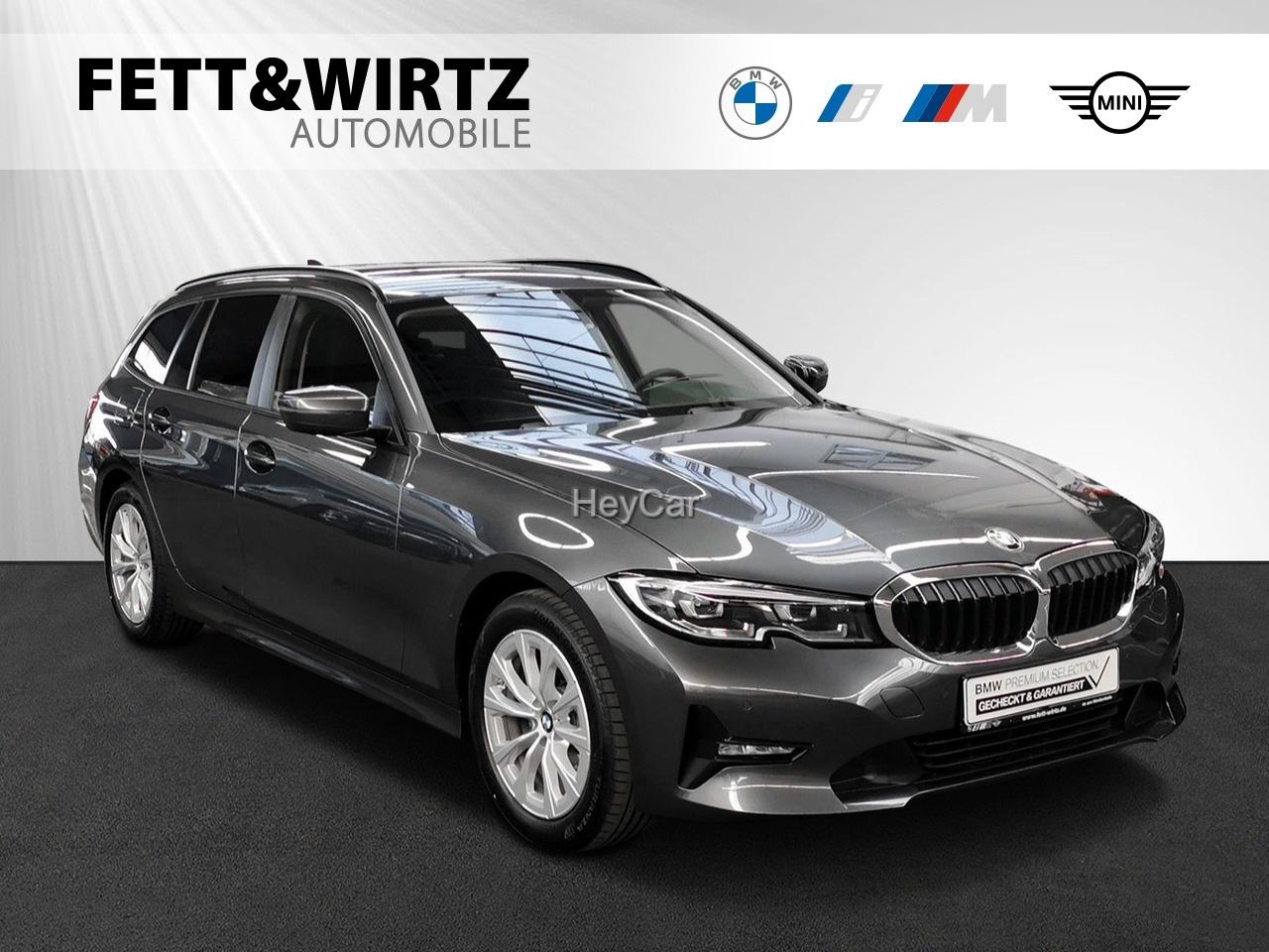 BMW 318d Touring Aut. AHK LC+ Dr.-As. LED, Jahr 2020, Diesel
