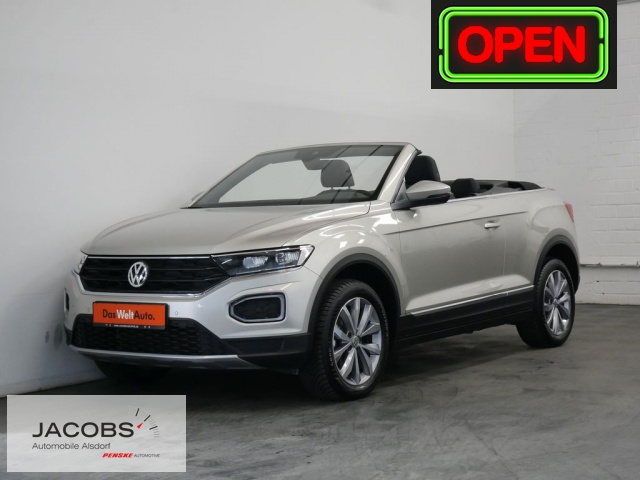 Volkswagen T-Roc Cabriolet 1.0 TSI Style AHK,LED,SHZ Klima, Jahr 2020, Benzin