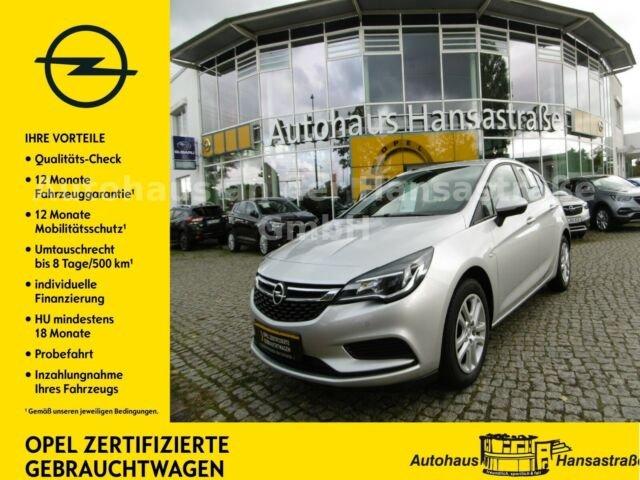 Opel Astra 1.4 Edition Rückfahrkamera, Abstandswarner, Jahr 2017, Benzin