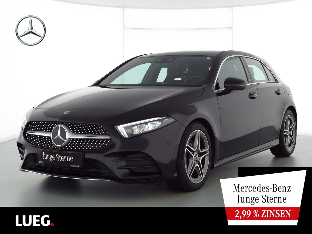 Mercedes-Benz A 200 AMG+MBUX+NavPrm+LED-HP+Sound+ParkAssistent, Jahr 2018, Benzin