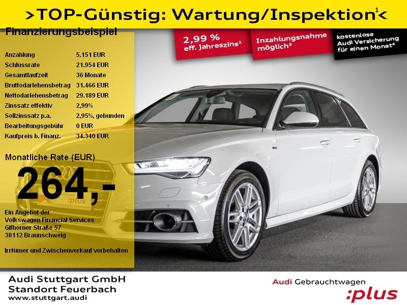Audi A6 Avant 2.0 TDI quattro S line Head-Up Pano LED, Jahr 2018, Diesel