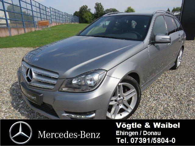 Mercedes-Benz C 350 T CDI AMG-LINE+NAVI+EASY-PACK+AHK+NOTRAD, Jahr 2012, Diesel