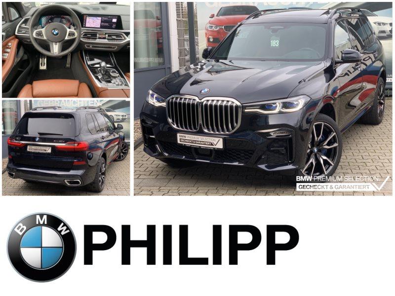 BMW X7 xDrive30d X-Offroad 6-Sitze MassageSKY B&W TV Laser, Jahr 2020, Diesel