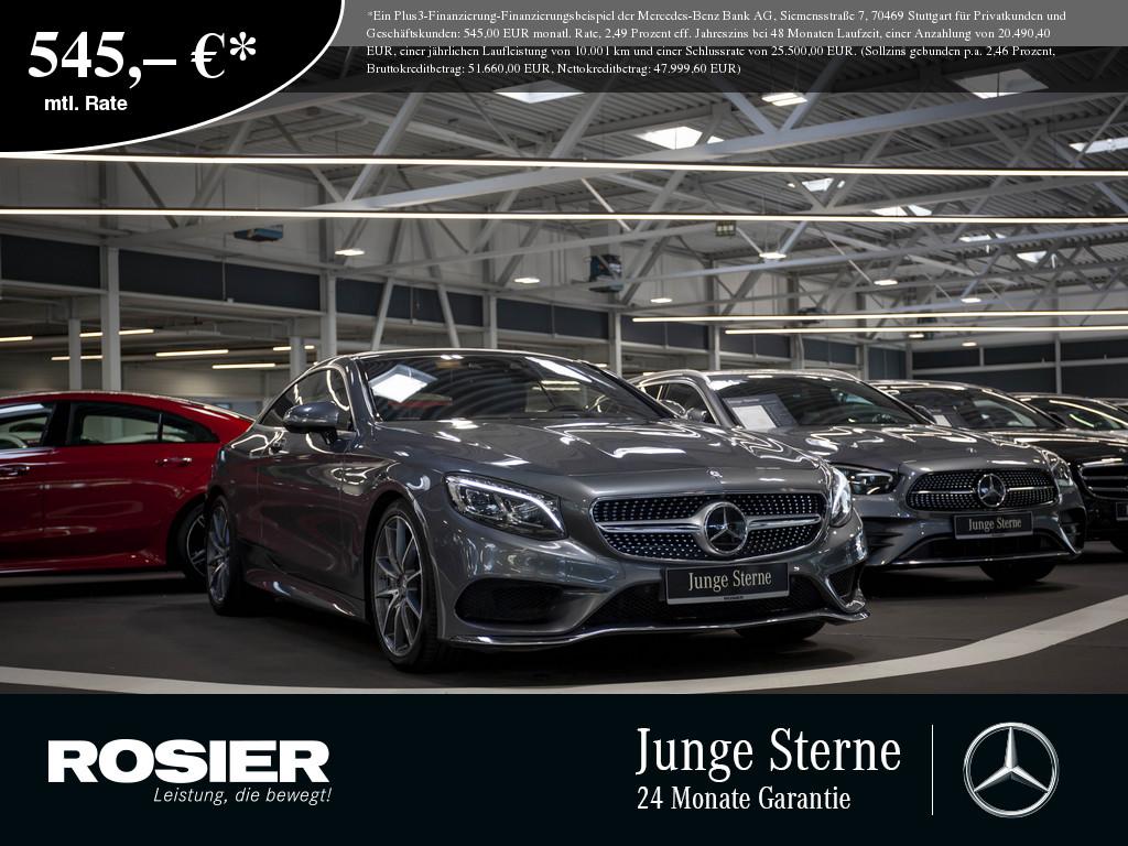 Mercedes-Benz S 400 Coupe 4M, Jahr 2016, Benzin