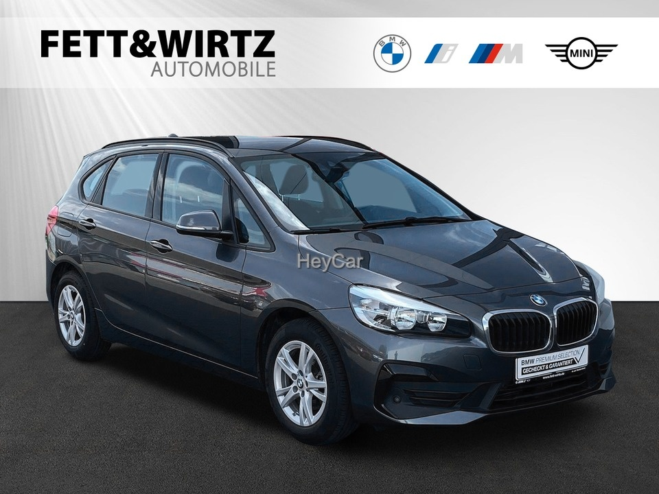 BMW 216 Active Tourer Adv. el.Heckkl. SHZ Parkass., Jahr 2019, Diesel