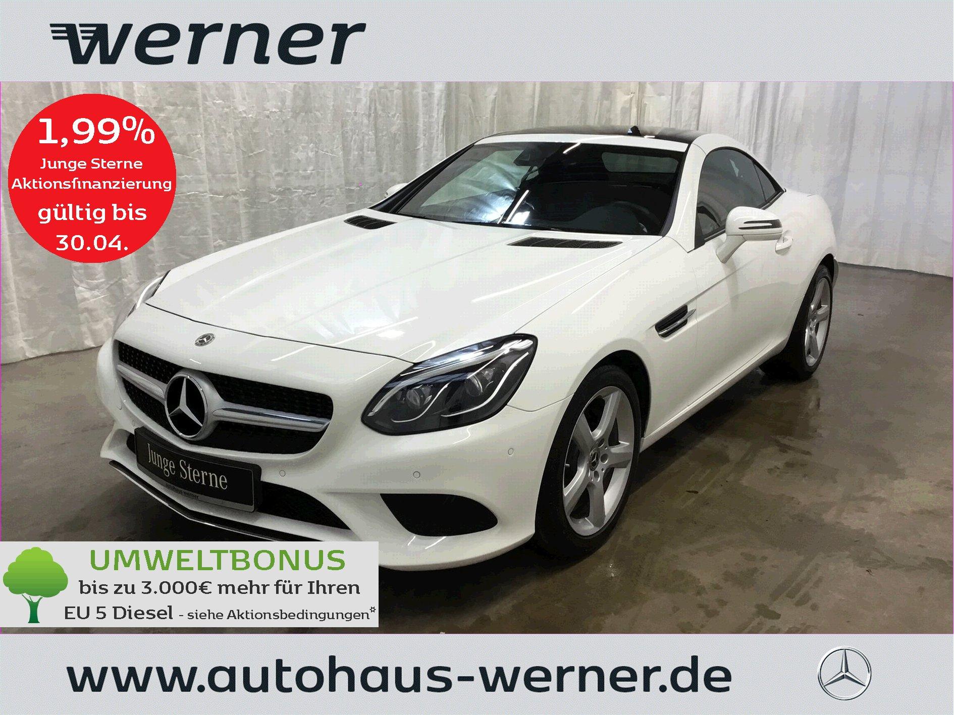 Mercedes-Benz SLC 200 ILS+LED+Totwinkel+AIRSCARF+Park+SHZ+AFA+, Jahr 2020, Benzin