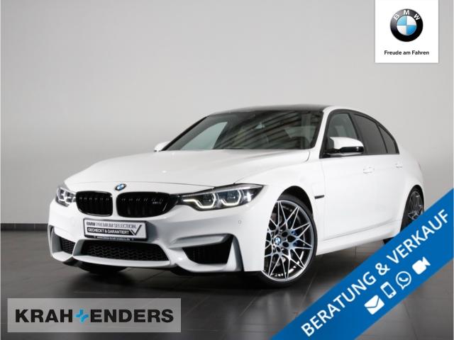 BMW M3 M Competition Rückfahrkam+Navi+HUD+LED+20''LM, Jahr 2017, Benzin