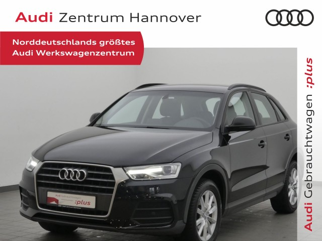 Audi Q3 1.4 TFSI AHK Einparkhilfe Plus Sitzheizung, Jahr 2017, Benzin