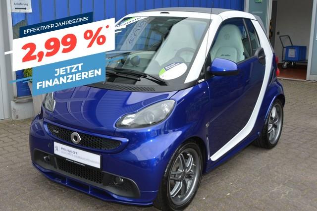smart fortwo cabrio softouch BRABUS fan edition, Jahr 2015, Benzin