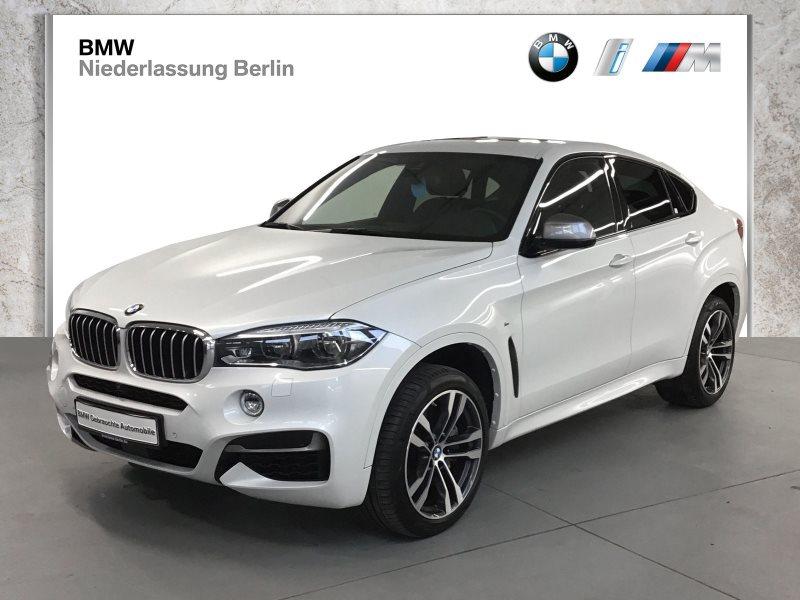 BMW X6 M50d EU6 LED Navi HiFi Glasdach Standheizung, Jahr 2018, Diesel