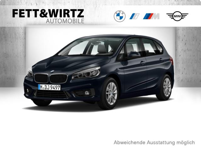 BMW 220 Active Tourer Adv. AHK LED Navi Klimaaut., Jahr 2016, Diesel