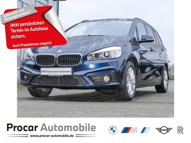 BMW 218d Gran Tourer xDrive Advantage Aut. Navi LED, Jahr 2017, Diesel
