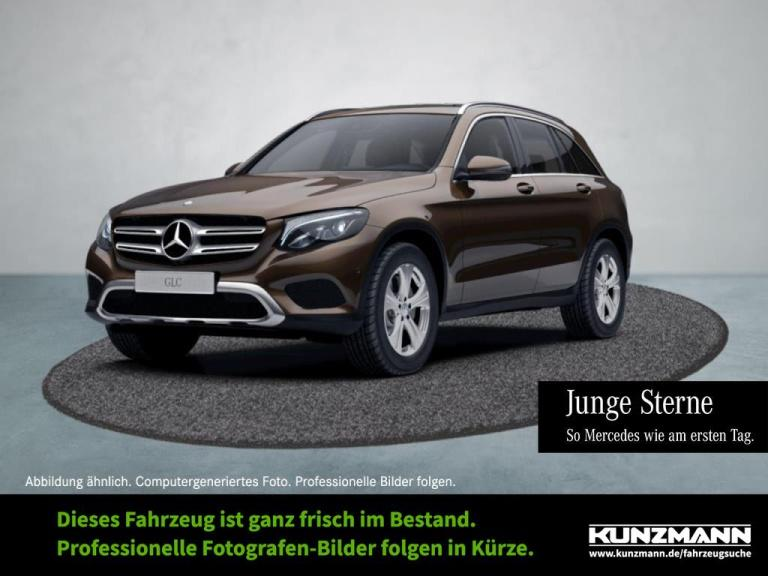 Mercedes-Benz GLC 220 d 4M Exclusive Navi LED ParkP Kamera, Jahr 2016, Diesel