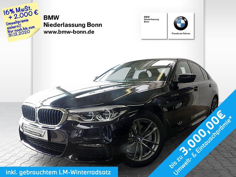 BMW 520d Limousine M Sportpaket, Jahr 2020, Hybrid_Diesel