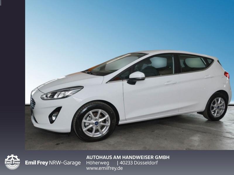 Ford Fiesta 1.0 EB Hybrid TITANIUM,Fahrerassistenz-Paket, Winter, GJR, Jahr 2020, Benzin