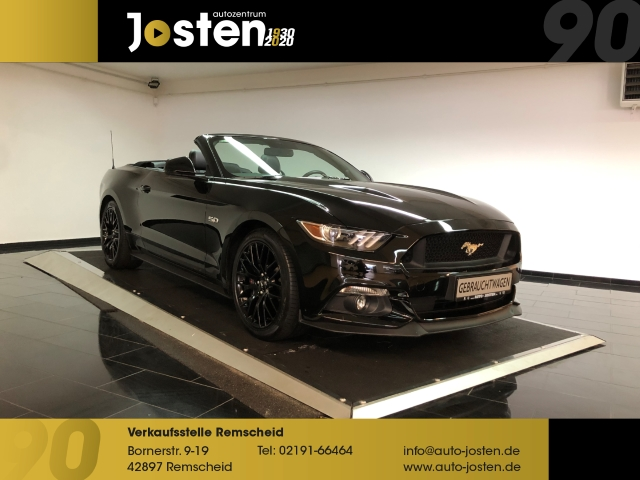 Ford Mustang Convertib. 5.0 Autom. PremiumPack 1.Hand, Jahr 2016, Benzin