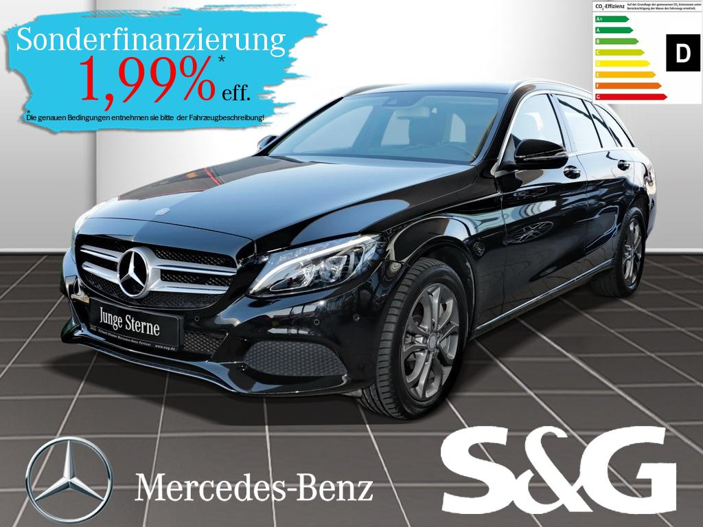 Mercedes-Benz C 400 4MATIC AVANTGARDE Navi/LED/Parkpilot/Sitzh, Jahr 2016, Benzin