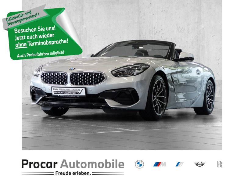 BMW Z4 sDrive20i SPORT LINE+NAVI PROF.+HiFi+DAB+DRIVE ASSIST+SPORTSITZ+Fin ab 0,01%, Jahr 2020, Benzin