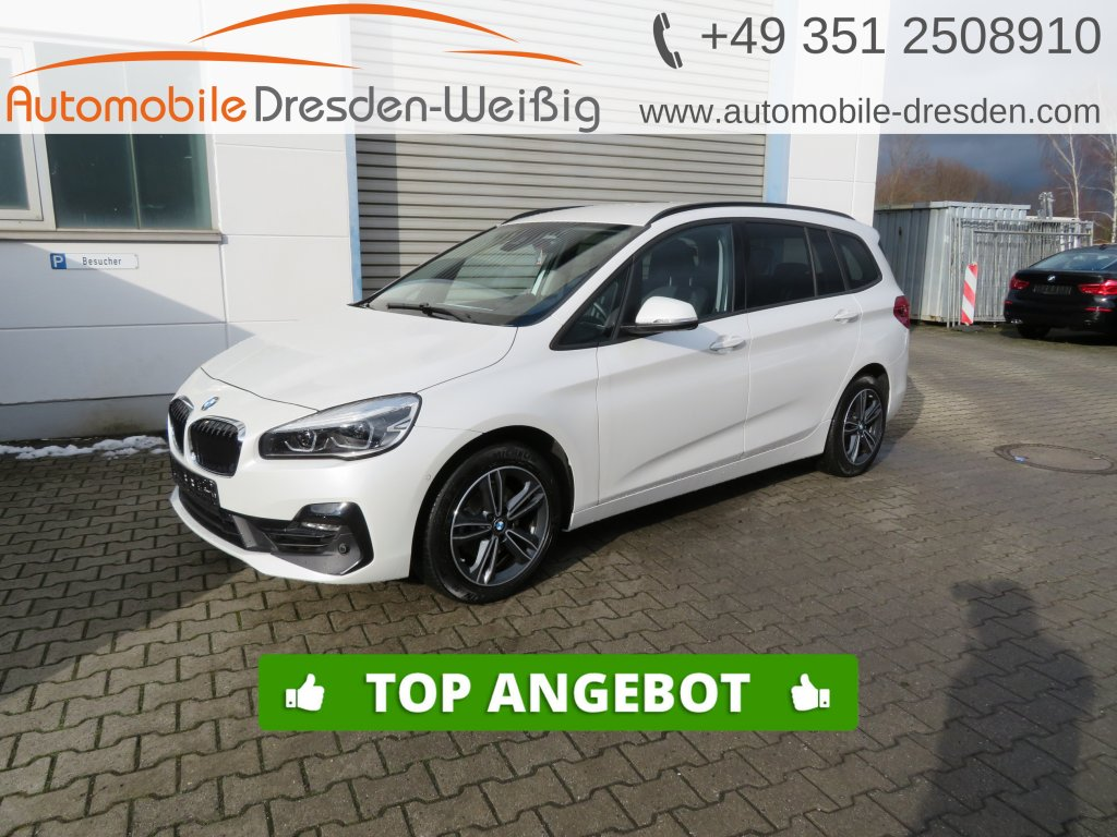 BMW 216 Gran Tourer i Sport Line*Navi*7 Sitze*LED*, Jahr 2019, Benzin