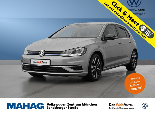 Volkswagen Golf VII 1.5 TSI IQ.DRIVE Navi Sitzhz. ParkAssist LightAssist FrontAssist 16Zoll 6-Gang, Jahr 2020, Benzin