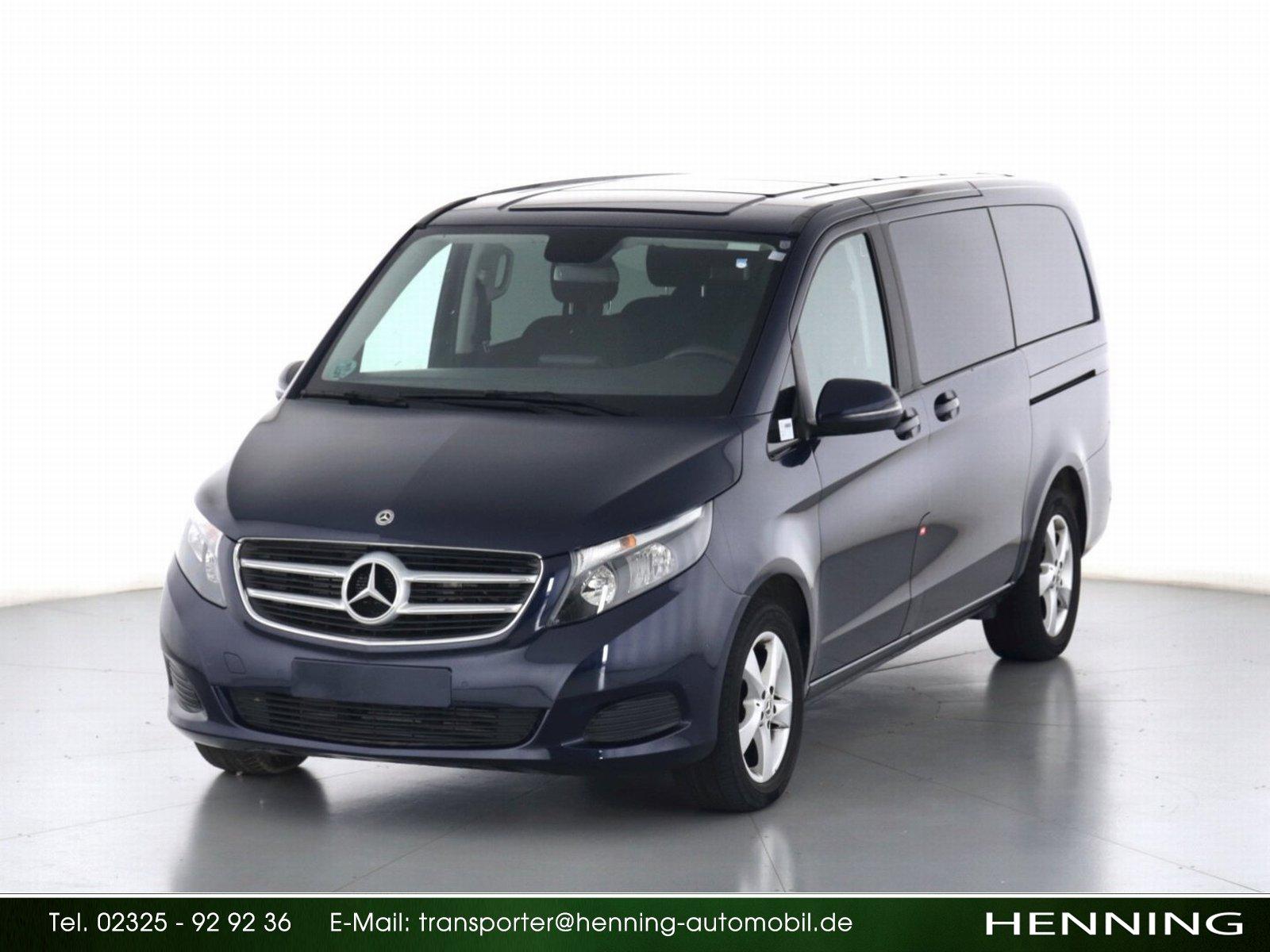 Mercedes-Benz V 220 d Lang 7G PDC Klima Tempomat, Jahr 2018, Diesel