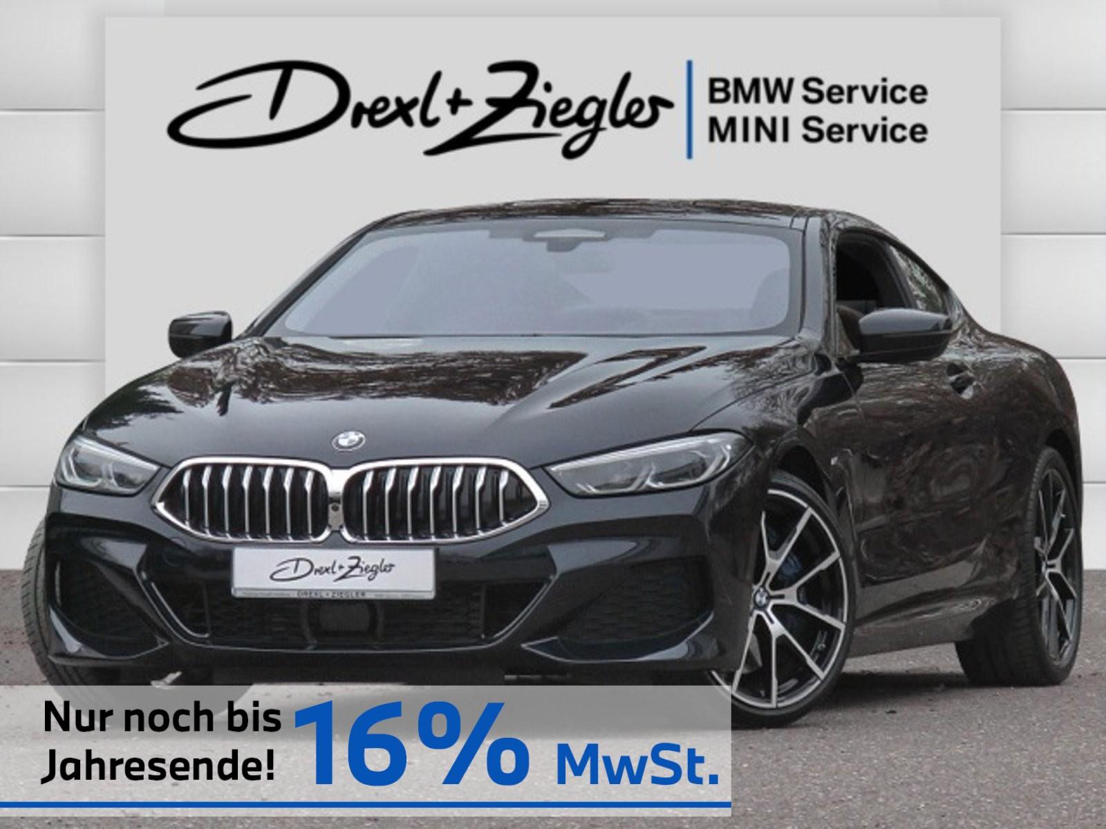 BMW 840d xDrive Coupe M Sport H&K Laser Ind.Leder Alu20, Jahr 2019, Diesel