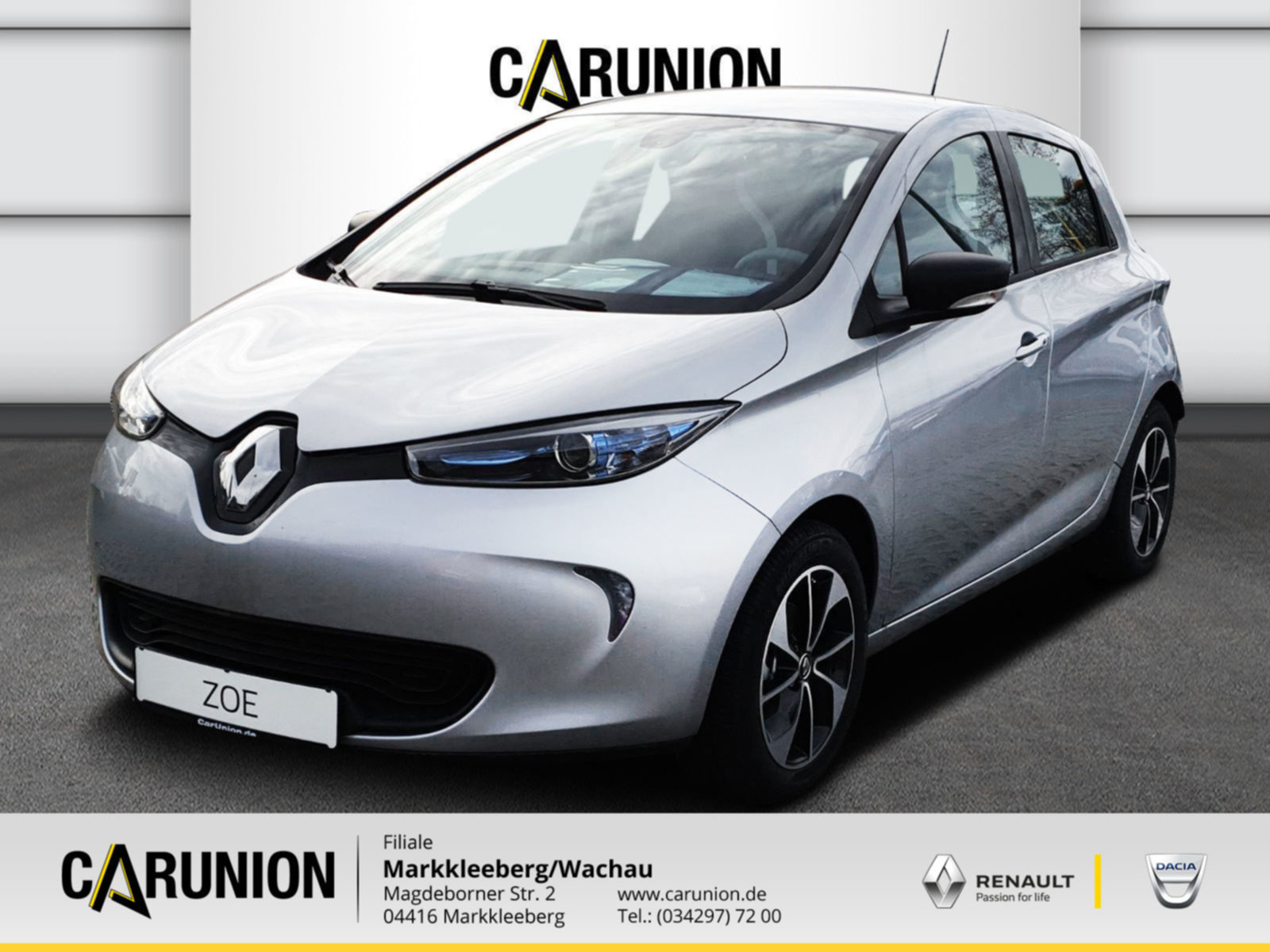 Renault ZOE LIFE BatterieKAUF Option auf Z.E. 40 Paket, Jahr 2020, Elektro