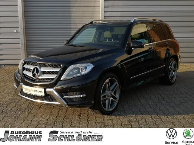 Mercedes-Benz GLK-350 CDI 4MATIC AMG Sportpaket Navi Bi Xenon BlueEfficiency 4Matic DPF, Jahr 2013, Diesel