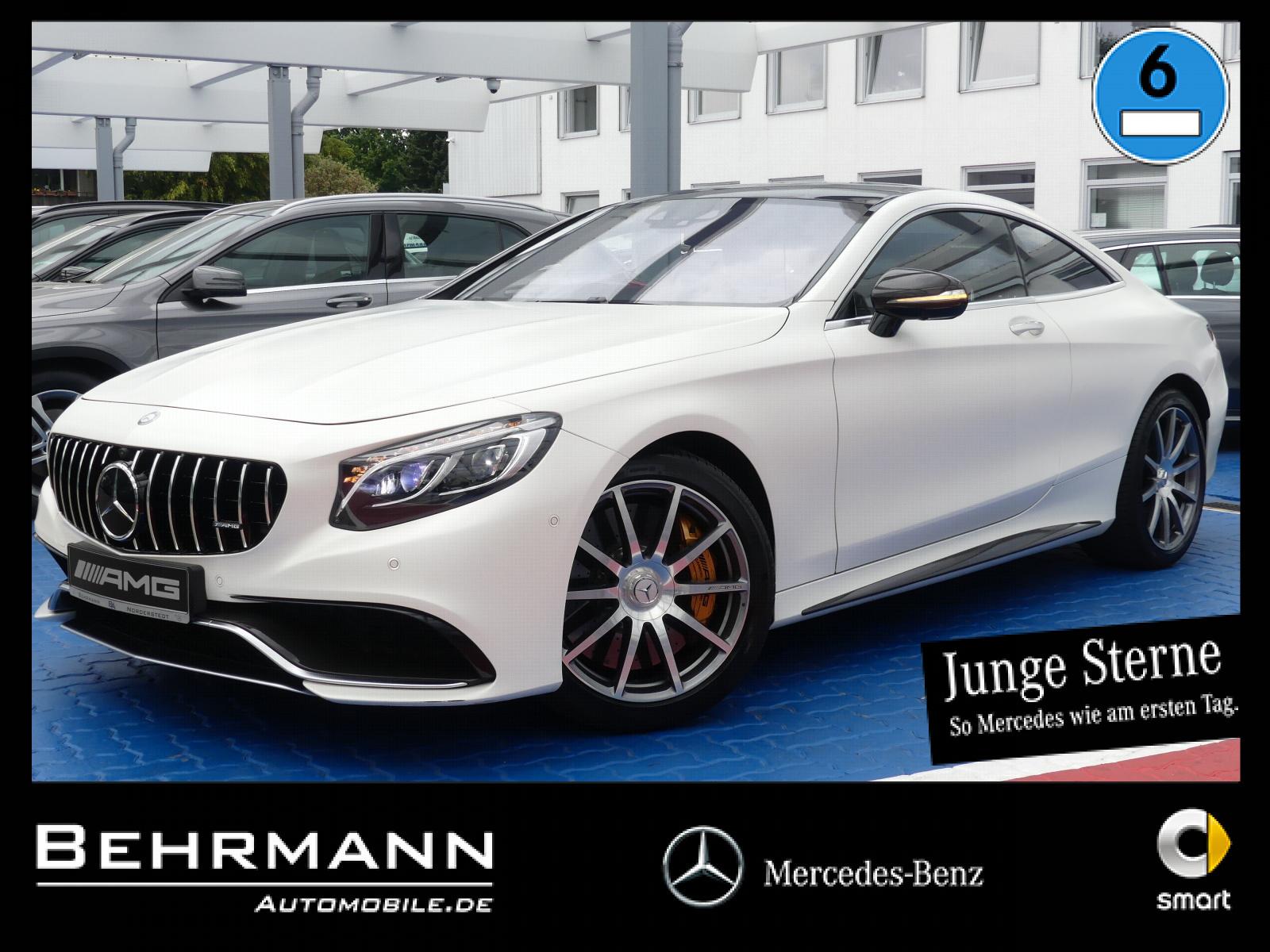 Mercedes-Benz S 63 4M Coupé AMG+Drivers Package+TV+Air Balance, Jahr 2015, Benzin