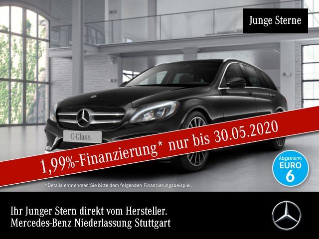 Mercedes-Benz C 400 T 4M AMG COMAND LED PTS 9G Sitzh Sitzkomfort, Jahr 2017, Benzin