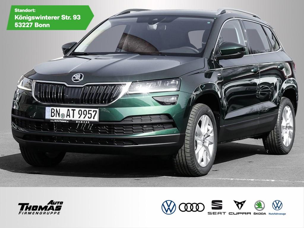 Skoda Karoq Drive 125 1.5TSI DSG *LED*RFK*AHK*, Jahr 2021, Benzin