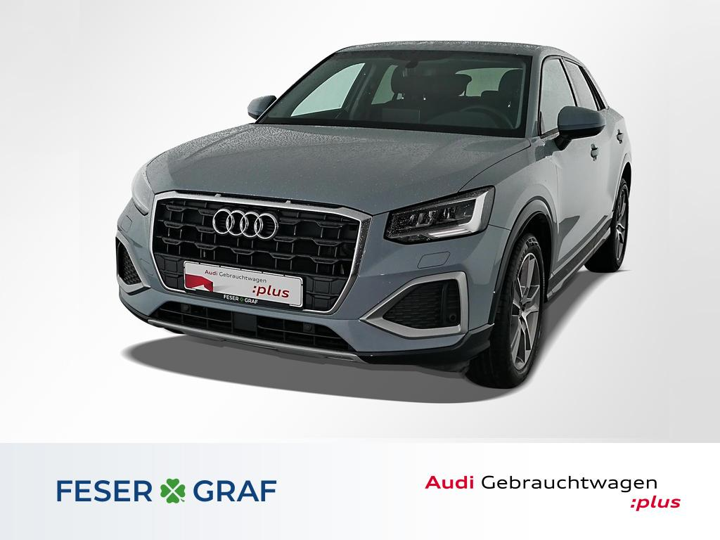 Audi Q2 Adv. 35TFSI LED/AHK/R-Kamera/SHZ/18 Zoll, Jahr 2021, Benzin