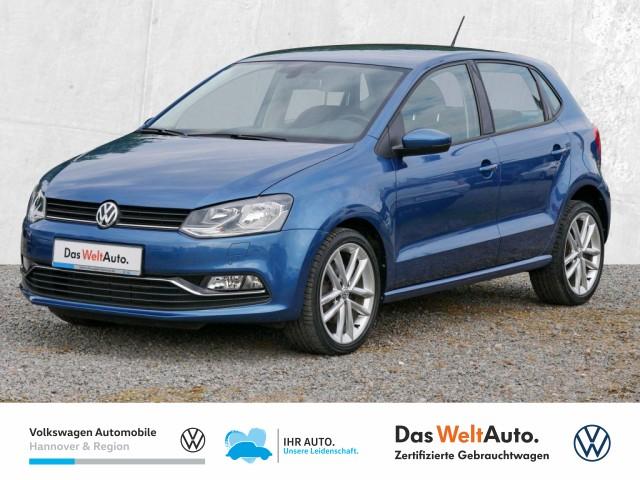 Volkswagen Polo 1.4 TDI DPF Highline Navi GRA Klima PDC Sitzheiz, Jahr 2017, Diesel