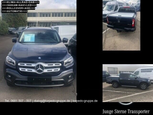 Mercedes-Benz X 250 d 4M PROGRESSIVE +LED+AHK+360 Kamera+KLIMA, Jahr 2019, Diesel