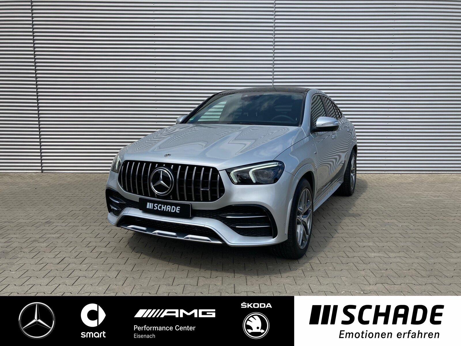 Mercedes-Benz GLE 53 AMG 4M+ AHK*Panoramad*Head-up*KEYLESS-GO*, Jahr 2021, Benzin