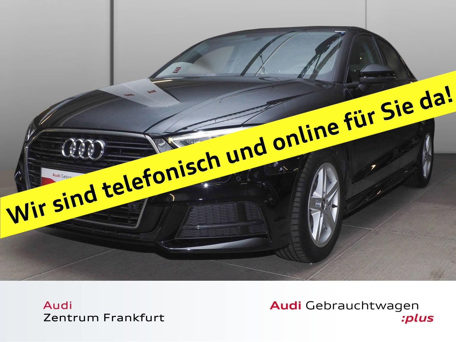 Audi A3 Limousine 1.0 TFSI S line Navi Xenon PDC Sitzheizung, Jahr 2017, Benzin